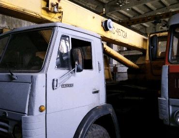 Автокран КамАЗ - выкуп в Москве