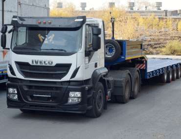 Низкорамный трал Iveco - выкуп в Москве